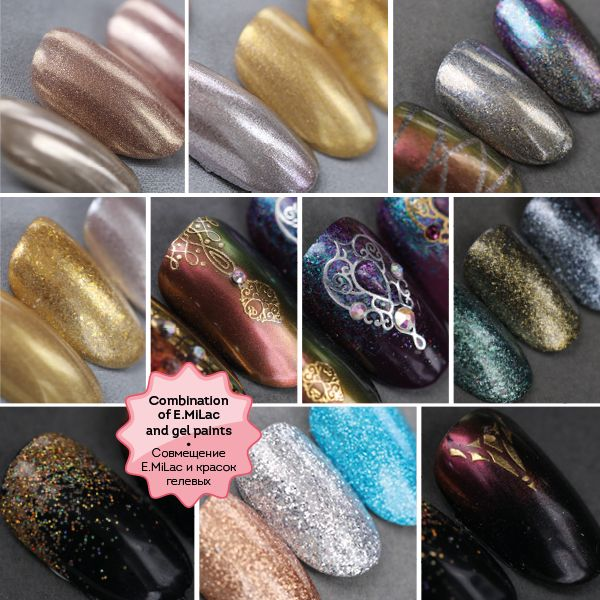 Mirror Manicure featuring Glitters and Pigments 3h