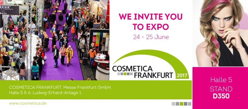 The School of nail design by Ekaterina Miroshnichenko invites to COSMETICA in Frankfurt, Germany