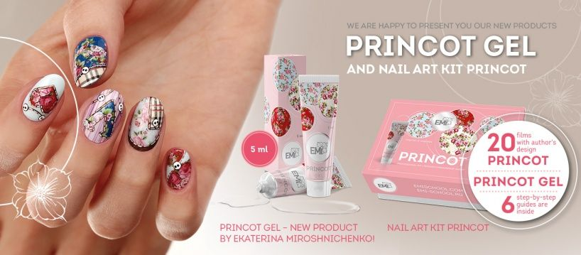 New products: PRINCOT Gel and Nail Art kit PRINCOT