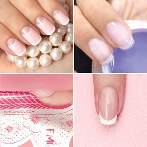 Express Modeling and Strengthening for nails using E.Mi Gel System for practicing masters